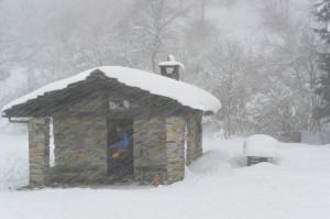 17 Neve di tormenta sul Colle Portia