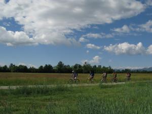 In bici sulla Vauda